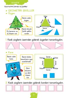 1. Sınıf Konu Anlatım MATEMATİK FASİKÜLLERİ Grade 1, First Grade, Writing A Book, Teacher, Math, School, Geometri, Books, Professor