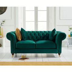 Velvet mid century modern sofas