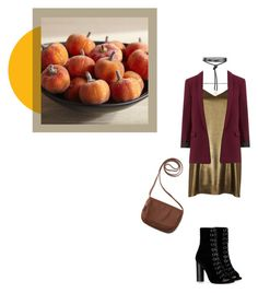 """""""Gold Season"""" by janicevc on Polyvore featuring Pier 1 Imports, River Island, Barbara Bui and Aéropostale"""
