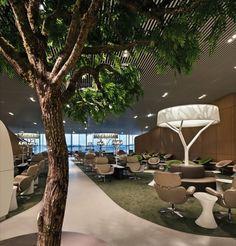 Noe Duchfaur Lawrence designs Air France's new £10.4m business class lounge at Paris-Charles de Gaul airport
