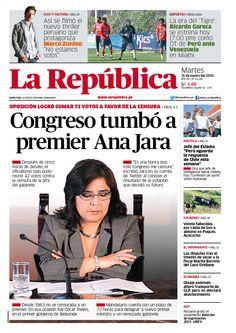La República Lima 31-03-2015
