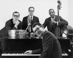 The classic Dave Brubeck Quartet: Joe Morello, Paul Desmond, Euguge Wright, and Dave Brubeck