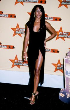 Aaliyah Diane Haughton 2001 MTV Movie Awards