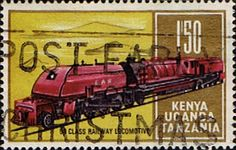 Postage Stamps Kenya Uganda Tanzania 1971 Railway Transport SG 294 Fine Used Scott 231 Other KUT Stamps HERE