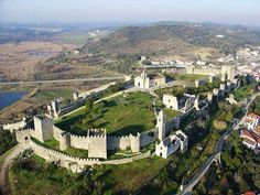 Montemor-o-Velho castle and fortified walls, Portugal