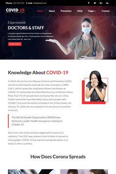 Multipurpose Corona Virus Website templateThis is a multipurpose website design template, you can customize and edit it easily to your responsive Photo Fixer, Web Design Software, First Website, Admin Panel, Social Media Pages, Responsive Web, Create Website, Wordpress Template, Website Template