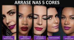 Batons liquidos matefix Eudora- Lançamento - Maquiando Lip Colors, Eyeshadow, Make Up, Beauty, Lipsticks, Hand Soaps, Colors, Group, Maquillaje