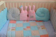 Бортики-подушки в виде улиток