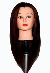Competent Color Training Mannequin Head Female Hair Head Doll 22 Inches Mannequin Doll Head Hairdressing Training Heads Styling Wig Stands Tools & Accessories