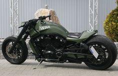 Harley Davidson Custom Bike, Classic Harley Davidson, Harley Davidson Motorcycles, Custom Motorcycles, Vrod Custom, Custom Street Bikes, Cafe Racer Honda, Bike Pic, Victory Motorcycles