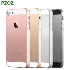 PZOZ For iphone 5S Case Original For iphone 5 Case Silicone Cover Slim Transparent Protection Soft Shell For iphone 5SE 5 S i5