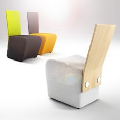 UFF chair, Polish design, polski dizajn, polskie wzornictwo, made in Poland. Pinned by #AdrianWerner