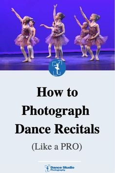 Struggling to make your dance recital pictures look amazing? I want to show you how to photograph dance recitals like a pro Dance Recital, Dance Class, Dance Studio, Ballet Photos, Dance Photos, Dance Photography, Photography Tips, Oil Painting Tips, Watercolor Painting
