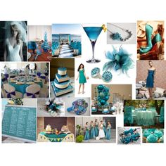 Teal Wedding, created by highglosswed
