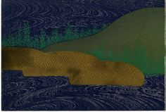 Kamisaka Sekka - Reeds and water