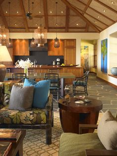 Contemporary Vintage Hawaiian Decor Design, Pictures, Remodel, Decor and Ideas Nest Design, House Design, Hawaiian Homes, Hawaiian Decor, Vintage Hawaiian, Tropical Style, Tropical Decor, Modern Tropical, Nosara