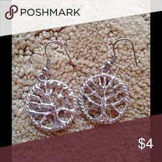 Tree of Life Earrings BOGO 1 for $4, 2 for $6, 3 for $8, 4 for $10, 5 for $12 and so on. Orders including 10 or more $4 priced are eligible for any earrings after 10 pairs is only $1 each! Creation Central Jewelry Earrings