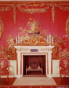 Tapestry Room from Croome Court  Room designed by Robert Adam  (English, Kirclady, Fifeshire, Scotland 1728–1792 London)...  Metropolitan Museum of Art, New York...