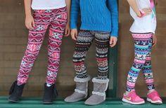 GroopDealz | Girls Printed #Leggings - 18 Styles!