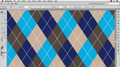 Illustrator Tutorial: Create an Argyle Pattern | Blog | FashionClassroom