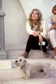 Magnum Photos - Eve Arnold SPAIN. Mallorca. 1967. Candice BERGEN and Michael CAINE.