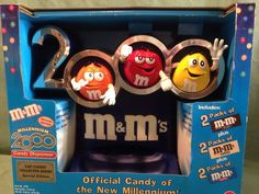 M M Official Candy New Millennium Special Edition 2000 Dispenser Never Used | eBay