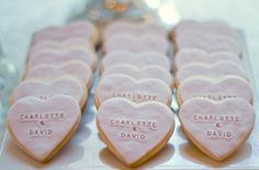 Own it with romantic personalized cookies.   Community Post: 30 Swoon-Worthy Engagement Party Ideas