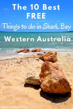The 10 Best Free Things to do in Shark Bay … that don't include Monkey Mia! A useful list for camping and caravanning around Australia. Perth Western Australia, Visit Australia, Australia Travel, Australia 2018, Coast Australia, Auckland, Camping Quebec, Brisbane, Australia Destinations