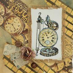 """Dekoratives Klebeband """"Uhren"""" « LaBlanche"""