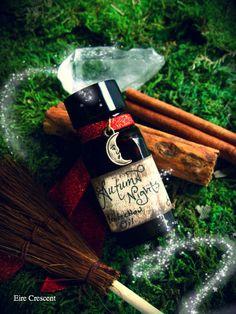 Autumn Nights- Ritual Perfume Protection Oil. $12.99, via Etsy.