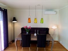 Wanted Meltdown by Cappellini - but made this instead. Only USD 49 for three colour lamps