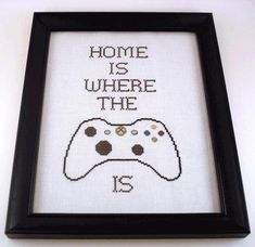 Have a big gamer in your house? This pattern has options for XBOX 360, Wii, Nintendo, and NES Controller.