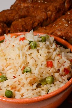 Guatemalan rice is a delicious white rice with some added vegetables. It is really easy to make and a wonderful side dish for just about anything.