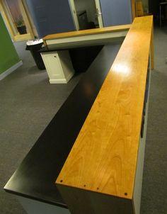 Custom Made Reception Desk by Eternal Furniture & Design | CustomMade.com