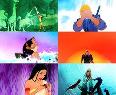 Disney Pocahontas, Disney Couples, Disney Girls, Disney Love, Im A Princess, Disney Princess, Pocahontas And John Smith, Best Halloween Movies, Frozen And Tangled
