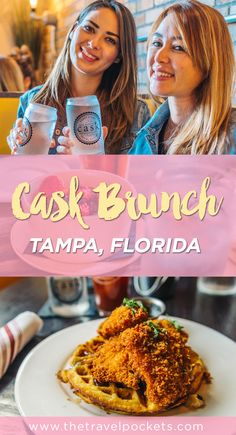 Cask Social Kitchen opened in June 2015 and has quickly became one of our favorite restaurants in Tampa, Florida. Located in Hyde Park, it's one of the restaurants in the area not to be missed. #Tampa #brunch #Florida #chickenandwaffles