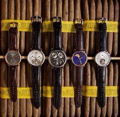 Những chiếc đồng hồ Arnold & Son trên dàn xì gà hảo hạng Romeo & Julieta