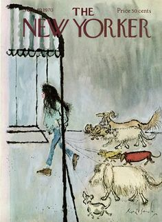 The New Yorker - Saturday, September 1970 - Issue # 2379 - Vol. 46 - N° 31 - Cover by Ronald Searle The New Yorker, New Yorker Covers, Cover Art, Chris Riddell, Ronald Searle, Pop Art, Magazine Art, Magazine Covers, New Yorker Cartoons