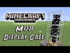 Minecraft PS3 Edition - Mob Trophy Glitch ( Keep Mobs In Display Cases ) ( PS3/ PS4 ) - YouTube