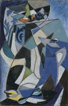 View Natura morta By Gino Severini; pastel on paper mounted on canvas; Access more artwork lots and estimated & realized auction prices on MutualArt. Gino Severini, Italian Futurism, Cubism Art, Italian Painters, Museum Collection, High Quality Images, Wall Design, Art Boards, Opera