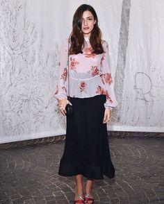 "Eleonora Carisi Fans  on Instagram: ""Like a roses Eleonora wearing Francesco Scognamiglio #Whoah #eleonoracarisi """