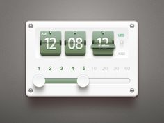 Dribbble - Time Manager by Paco
