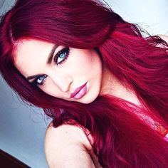 ❤️Ravishing Red!❤️ Mermaid: @franzi_jel  #Mermaidians
