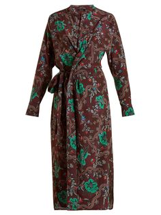 Calypso silk wrap dress | Isabel Marant | MATCHESFASHION.COM