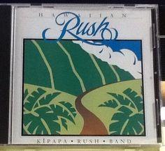 VERY RARE Hawaiian Rush Band by Kipapa Rush Band CD, 1993 Ho'olokahi Productions #HawaiiPacificIslands