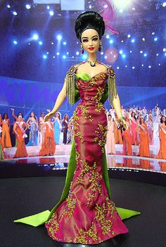 ๑Miss Malaysia 2005 SE Asian pageant doll