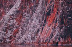 Les images des fjords dAlaska en infrarouge semblent venir dun autre monde  2Tout2Rien