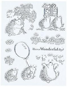 Penny Black Clear Stamp Set, Wonderful Penny Black