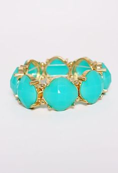 Stone Stretch Bracelet More Colors Available #privategallery #pgpackinglist