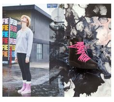 Nokian Hai and Lace-ups#rubber boots#Julia Lundsten